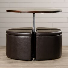 Harriet Coffee Table with Ottomans