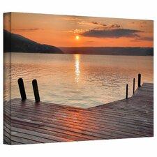 'Another Keuka Sunrise' Photographic Print on Canvas