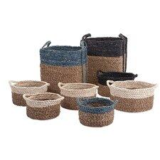 Bennet 8 Piece Woven Basket Set