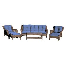 Panacea 6 Piece Seating Group with Cushions