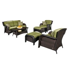 Edisto 6 Piece Seating Group with Cushions