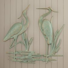 Osceola Double Heron Wall Décor