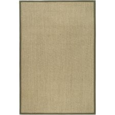Pine Manor Natural / Green Area Rug