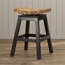 "Carol City 24"" Swivel Bar Stool"