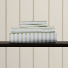 Awning Stripe Microfiber Sheet Set