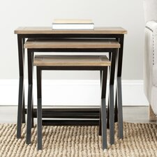 3 Piece Edgecomb Nesting Table Set