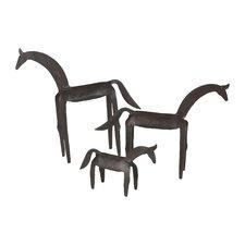 Primitive Horse Figurine
