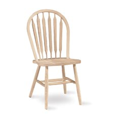 Unfinished Wood Arrowback Side Chair