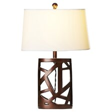 "Kaulton 25.5"" H Table Lamp with Empire Shade"