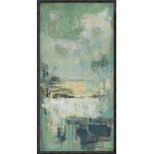 Esplanade Framed Painting Print on Canvas