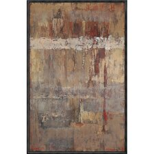 Russet Framed Painting Print on Canvas