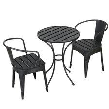 Kyle 3 Piece Bistro Dining Set