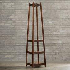 Crannell 3 Tier Tower Shoe & Coat Rack