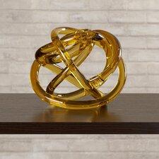 Glass Knot Sculpture