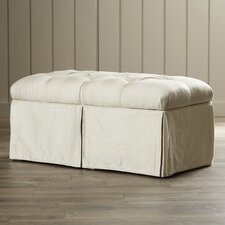 Cooper Skirted Bedroom Storage Ottoman
