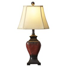 "Elijah 26"" H Table Lamp with Bell Shade"
