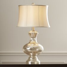 "Elijah 32"" H Table Lamp with Oval Shade"