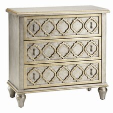 Norma 3 Drawer Accent Chest
