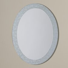 Jennie Frameless Crystal Wall Mirror