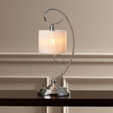 "Isolde 19"" H Table Lamp with Drum Shade"