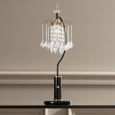 """Atticus 27"""" H Table Lamp with Bell Shade"""