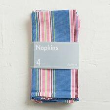 Multi-Striped Cotton Napkin (Set of 4)