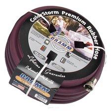 """Colorstorm Premium Rubber 0.63"""" x 50' Garden Hose"""