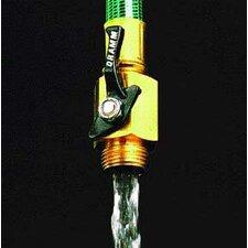 Brass Shut Off Valve Hoze Nozzle