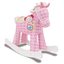 Ruby and Belle Rocking Horse