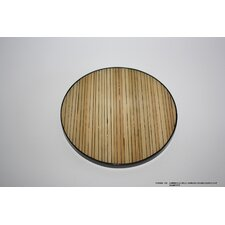 Split Bamboo Round Coaster