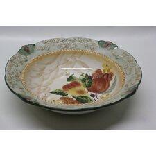 Round Ceramic Serving Bowl