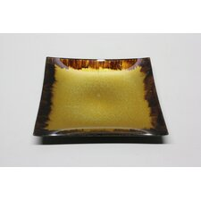 Square Glass Candy Plate