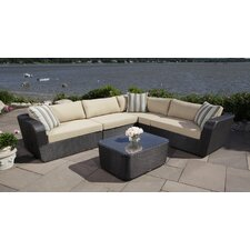 Malta 4 Piece Sectional Set with Cushions