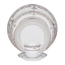 Pearl Harbor Fine China 5 Piece Place Setting (Set of 4)