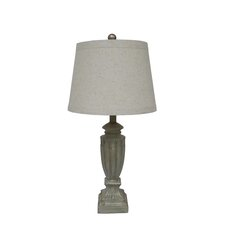 """26"""" H Table Lamp with Empire Shade"""