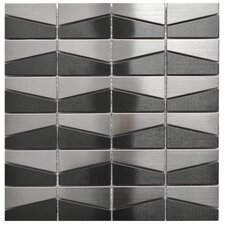 Stainless Steel Mosaic Tile in Black
