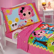 Lalaloopsy Sew Cute 4 Piece Toddler Bedding Set