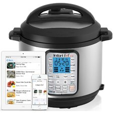 6-Quart Smart Blue-Tooth Enabled Multi-Functional Pressure Cooker