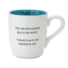 Luckiest Guy Mug (Set of 4)