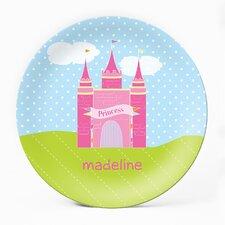 "Princess Castle 10"" Personalized Plate"