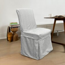 Monroe Long Dining Chair Slipcover
