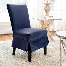 Tara Mid-Pleat Dining Chair Slipcover