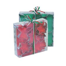 15 Piece Christmas Cookie Cutter Gift Set