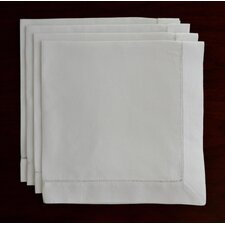 Handmade Hemstitch Linen Napkin (Set of 4)