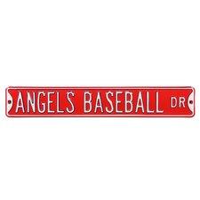MLB Street Signs Wall Décor