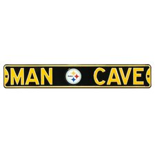 Pittsburgh Steelers Steel Man Cave Sign Wall Décor