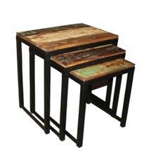 Soualem 3 Piece Nesting Tables