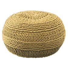 Charlie Color Cable Knit Ottoman