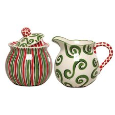 M.Bagwell 2 Piece Sugar and Creamer Set