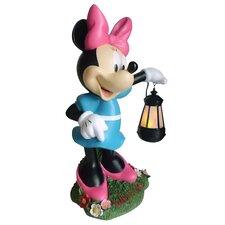 Disney Minnie Mouse Holding Lantern Statue